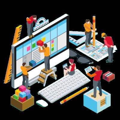 Процесс дизайна сайта